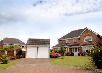 Thumbnail 4 bed detached house for sale in Holkham Close, Rushmere St. Andrew, Ipswich