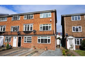 Thumbnail 4 bed end terrace house for sale in Lakeside, Snodland