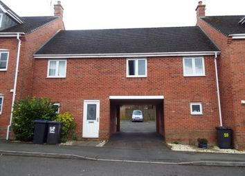 Thumbnail 2 bed maisonette for sale in Berrywell Drive, Barwell, Leicester, Leicestershire