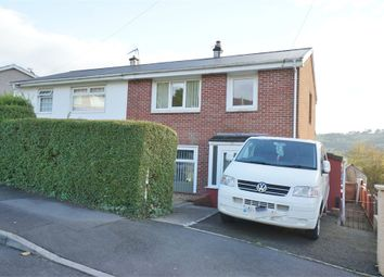 Thumbnail 3 bed semi-detached house for sale in Woodview Road, Risca, Newport, Caerphilly