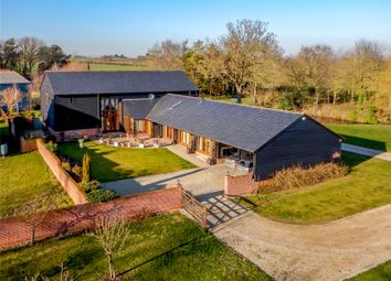 Thumbnail 3 bed barn conversion for sale in Helions Road, Helions Bumpstead, Haverhill, Suffolk