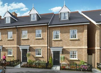 Thumbnail 3 bed terraced house for sale in Locksley Place, Chase Farm, Lavender Hill, Enfield, Greater London
