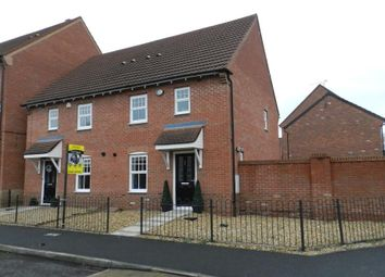 Thumbnail 3 bed semi-detached house for sale in Templeton Drive, Fearnhead, Warrington