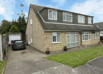 Thumbnail 3 bed semi-detached bungalow for sale in Belgrave Close, Ramsgate