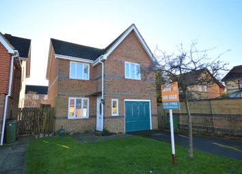 Thumbnail 3 bed detached house for sale in Mayfly Drive, Hawkinge, Folkestone