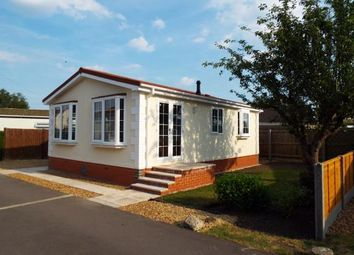 Thumbnail 2 bedroom mobile/park home for sale in Bushel Lane, Soham, Ely