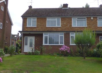 Thumbnail 3 bed property to rent in Elgar Avenue, Crowthorne