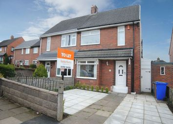 Thumbnail 3 bedroom semi-detached house to rent in Yew Tree Avenue, Blurton, Stoke-On-Trent
