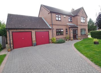 Thumbnail 4 bed detached house for sale in The Pastures, Long Bennington, Newark