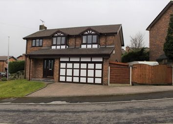 Thumbnail 4 bed detached house for sale in Beechwood, Glossop