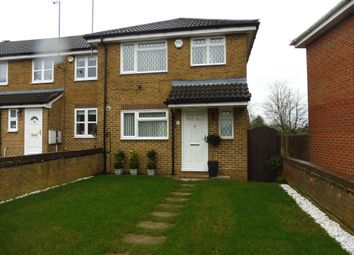 Thumbnail 3 bed end terrace house for sale in Whitwell Close, Luton