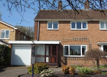 Thumbnail 3 bed semi-detached house for sale in Broadfern Road, Knowle, Solihull