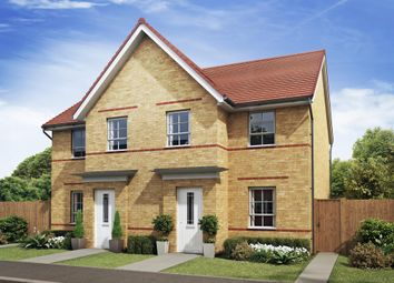 "Thumbnail 3 bedroom semi-detached house for sale in ""Palmerston"" at Barff Lane, Brayton, Selby"