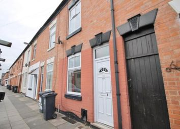 Thumbnail 3 bed terraced house to rent in Carlisle Street, Leicester