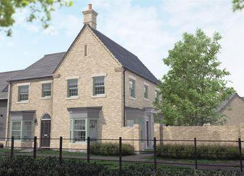 Thumbnail 3 bedroom semi-detached house for sale in North Road, Brampton, Huntingdon