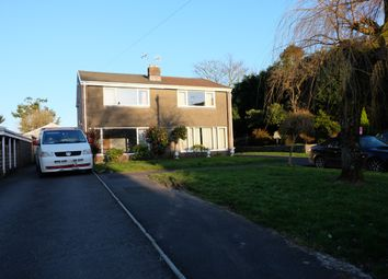 Thumbnail 3 bed semi-detached house to rent in Green Close, Mayals, Swansea