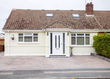 Thumbnail 3 bedroom semi-detached bungalow for sale in Pickwick Gardens, Northfleet, Gravesend