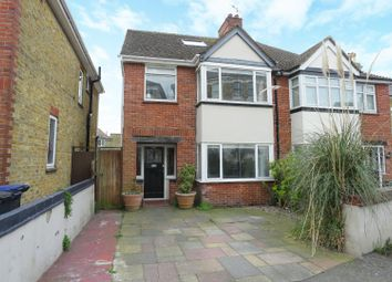 Thumbnail 4 bed semi-detached house for sale in Carlton Avenue, Ramsgate