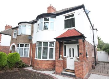 Thumbnail 4 bedroom semi-detached house for sale in Bricknell Avenue, Hull