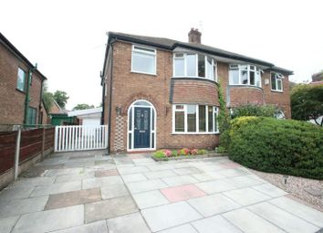 Thumbnail 3 bed semi-detached house for sale in Trinity Road, Sale