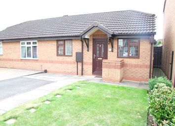 Thumbnail 1 bed detached bungalow for sale in Aintree Close, Branston, Burton-On-Trent