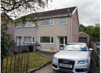 Thumbnail 3 bed semi-detached house for sale in Cae Felin Parc, Aberdare