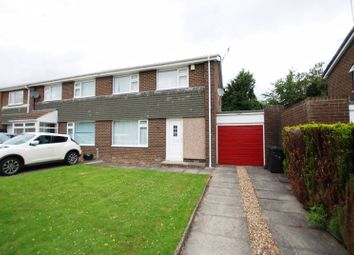 Thumbnail 2 bed semi-detached house for sale in Rowan Drive, Ponteland, Newcastle Upon Tyne