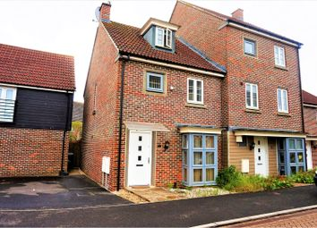 Thumbnail 3 bed end terrace house for sale in Warner Close, Marnel Park, Basingstoke