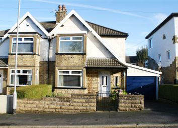 Thumbnail 3 bed semi-detached house for sale in Laburnum Grove, Cross Roads, Keighley, West Yorkshire
