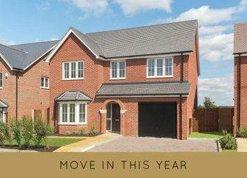 "Thumbnail 4 bed detached house for sale in ""The Pebworth"" at Millars Close, Main Street, Grendon Underwood, Aylesbury"