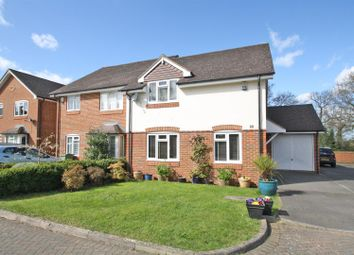 Thumbnail 3 bed semi-detached house for sale in Highclere, Burpham, Guildford