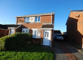 Thumbnail 2 bed semi-detached house to rent in Meadowbank Drive, Choppington