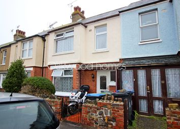 Thumbnail 3 bed terraced house for sale in Wellington Road, Westgate-On-Sea