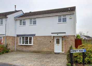 Thumbnail 3 bed semi-detached house for sale in Emmett Road, Rownhams, Hampshire