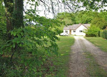 Thumbnail 3 bedroom detached bungalow for sale in Four Marks, Alton, Hampshire
