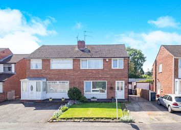Thumbnail 3 bedroom semi-detached house for sale in Garden Road, Eastwood, Nottingham