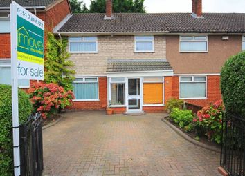 Thumbnail 3 bed terraced house for sale in Lydiate Lane, Hunts Cross, Liverpool