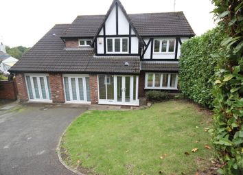 Thumbnail 4 bed detached house to rent in Falconwood Chase, Worsley, Manchester