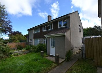 Thumbnail 3 bed semi-detached house for sale in Codiford Crescent, Camborne