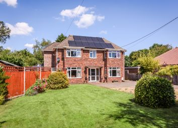Thumbnail 4 bed detached house for sale in Mill Road, Hempnall, Norwich
