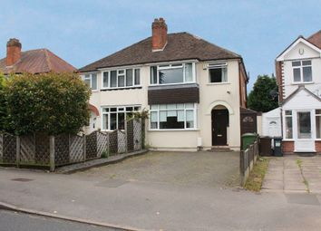 Thumbnail 3 bed semi-detached house to rent in Stroud Road, Shirley, Solihull, West Midlands