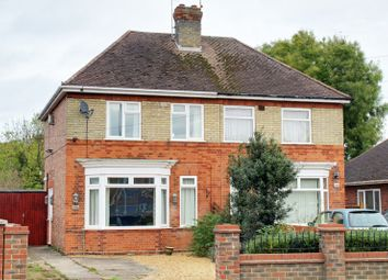 Thumbnail 3 bedroom semi-detached house for sale in Newark Avenue, Peterborough, Cambridgeshire