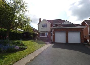 Thumbnail 4 bed detached house for sale in Tan Y Felin, Greenfield, Holywell, Flintshire