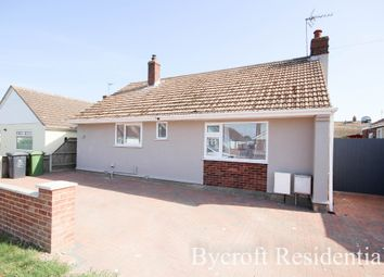 Thumbnail 2 bed detached bungalow for sale in Second Avenue, Caister-On-Sea, Great Yarmouth