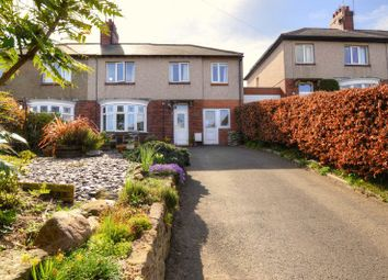 Thumbnail 4 bed semi-detached house for sale in Lesbury Road, Lesbury, Alnwick