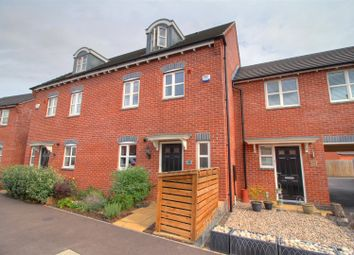 Thumbnail 4 bed town house for sale in Usbourne Way, Ibstock