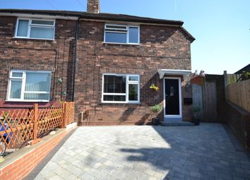 Thumbnail 3 bed semi-detached house for sale in Viggars Place, Knutton, Newcastle