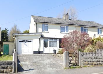 Thumbnail 3 bed semi-detached house for sale in Tavy Road, Tavistock