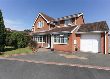 Thumbnail 4 bed detached house for sale in Smiths Way, Water Orton, Birmingham