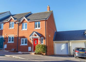 Thumbnail 3 bed end terrace house for sale in Saxon Close, Crediton